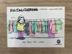 Digitalisierung; Endlose Möglichkeiten; Unitymedia Agacom