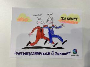 Partnerschaftlich in die Zukunft; Unitymedia Agacom; skaliert