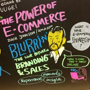 The Power of E-Commerc; Zach Johnson; Amazon; The Line between Branding & Sales. NextM 2018 Event