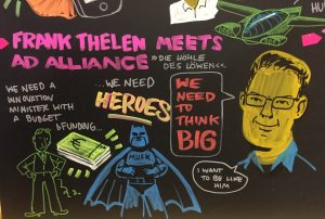 Frank Thelen meets AD Alliance; Heroes; We need to think Big; NextM 2018 Event